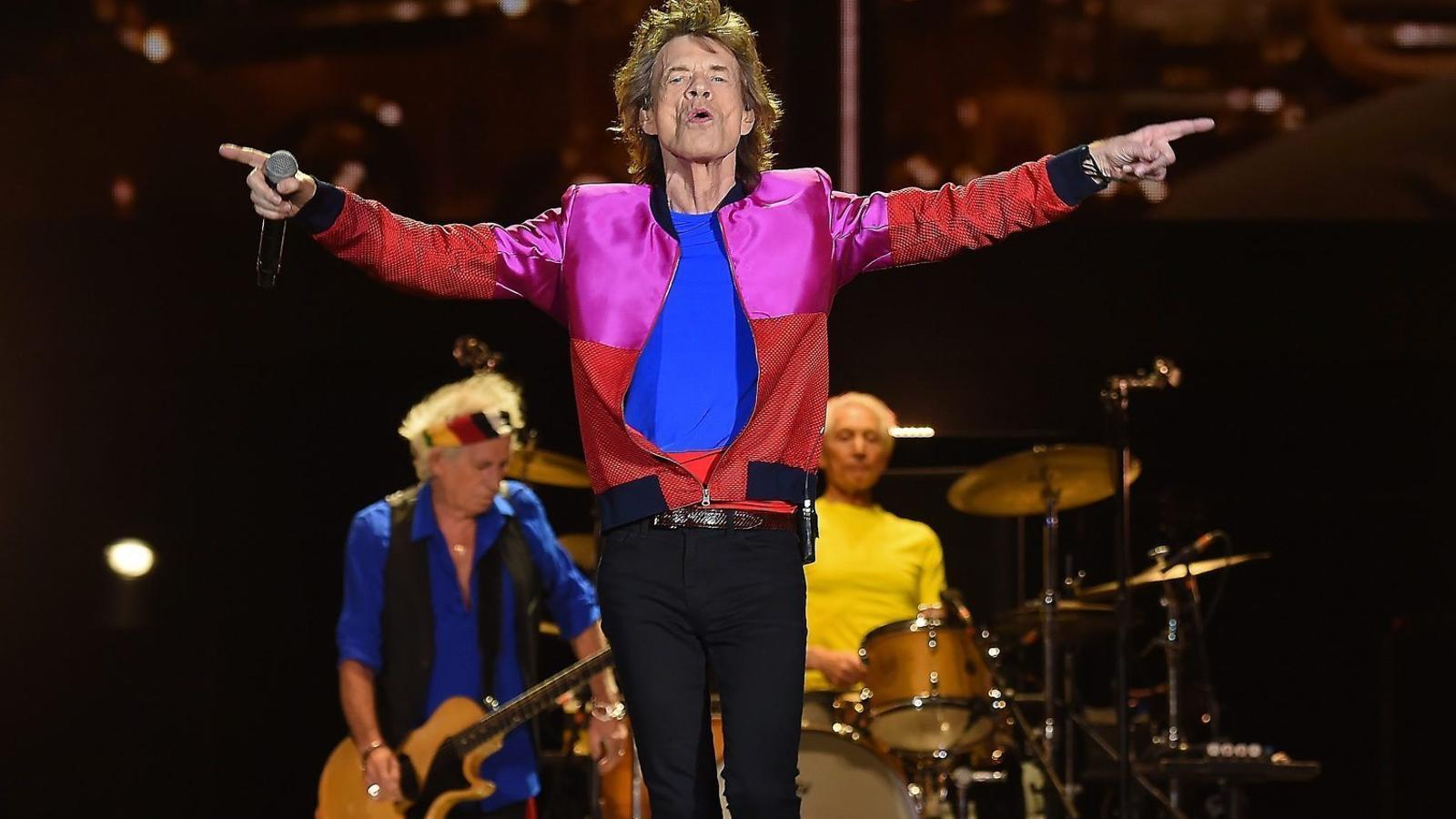 Mick Jagger, pare per vuitè cop als 73 anys