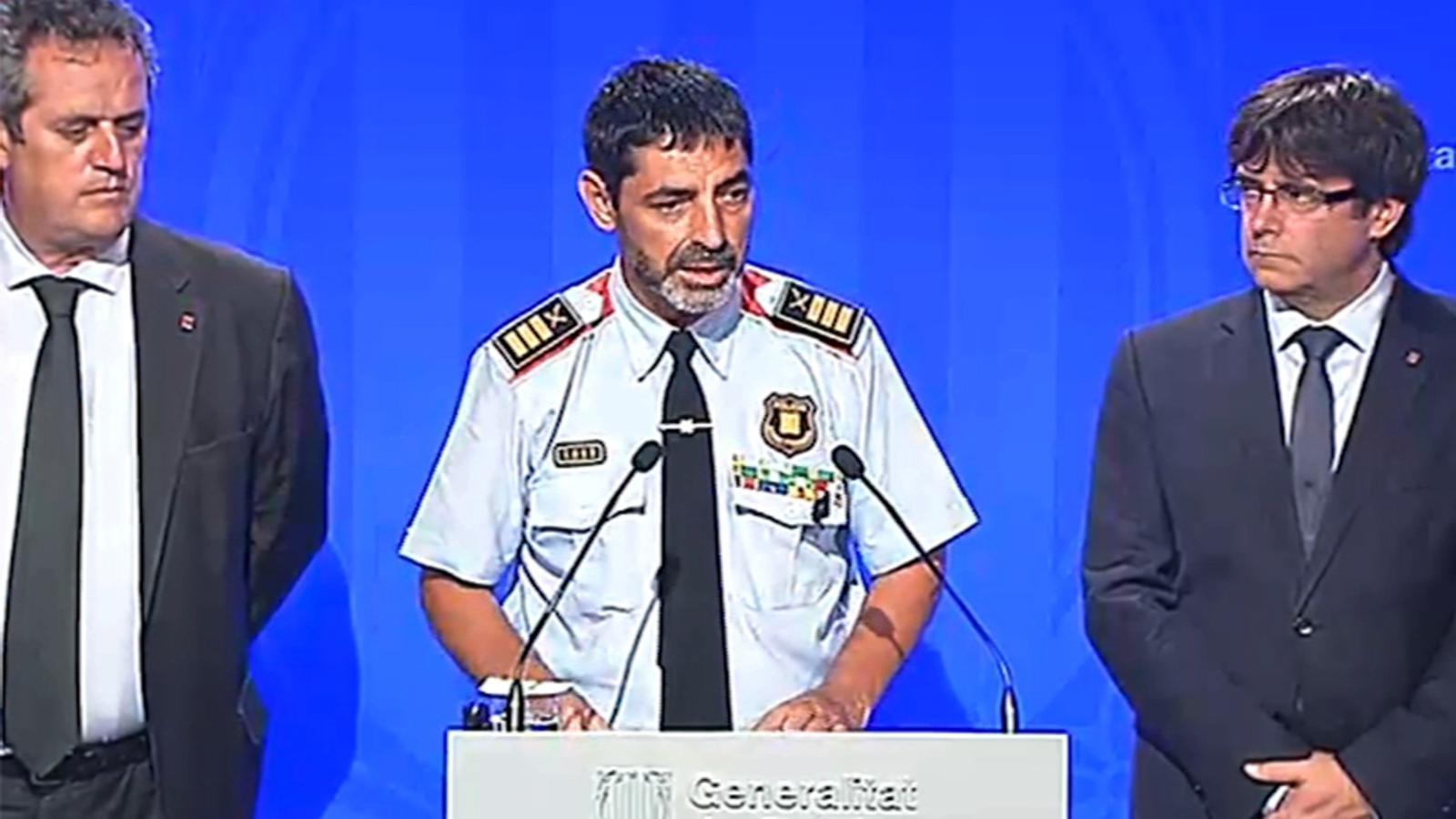 Puigdemont i Trapero expliquen com han abatut Younes Abouyaaqoub a Subirats