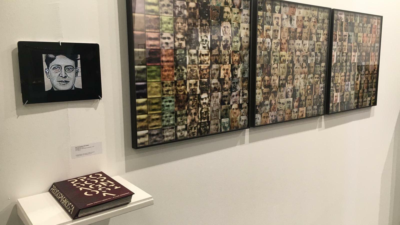 'Prosopagnosia', de Joan Fontcuberta, a l'estand de la galeria Àngels Barcelona a Arco