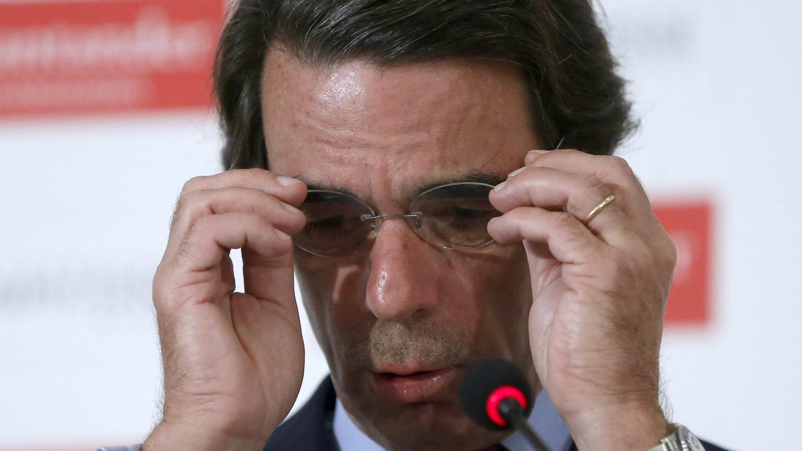 José Maria Aznar ha inaugurat aquest dilluns unes jornades de debat de la fundació FAES a Madrid