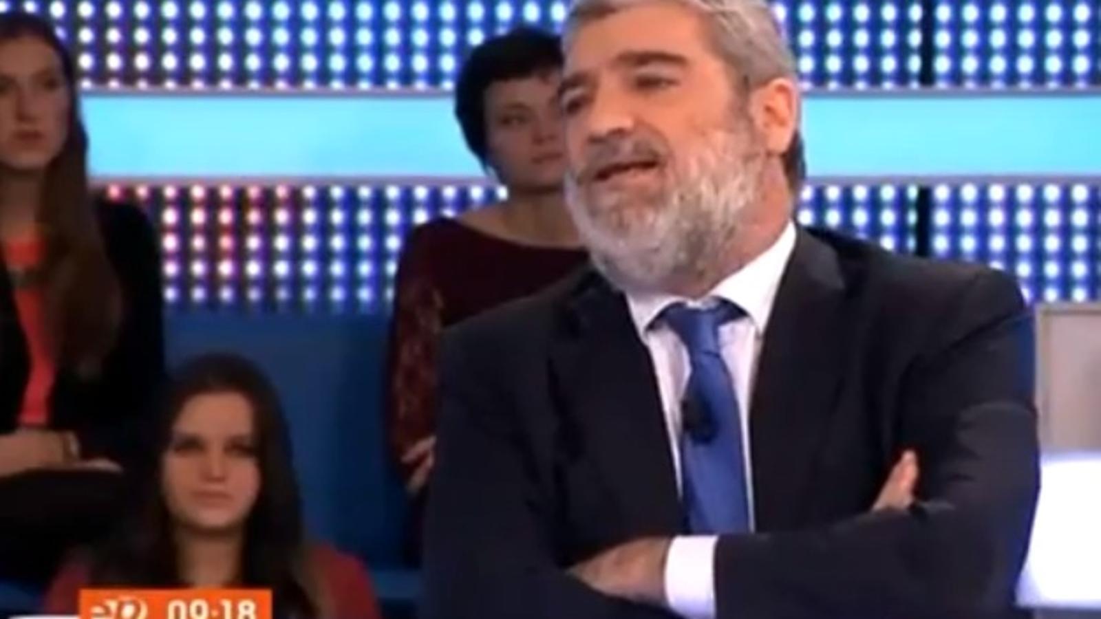 "Miquel Ángel Rodríguez: ""A Mas li aniria bé que l'afusellessin"""