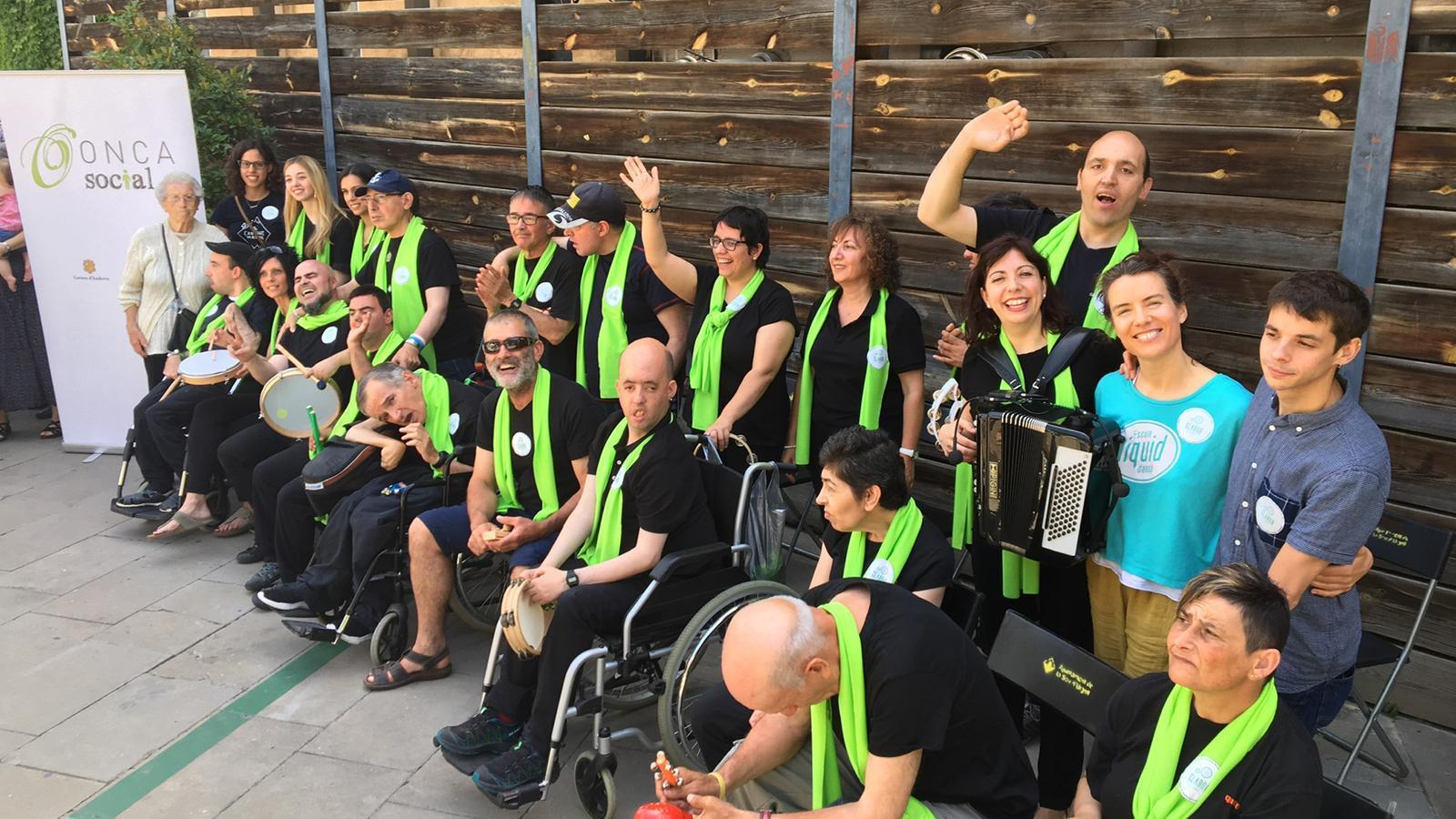 Els participants del programa. / FUNDACIÓ ONCA