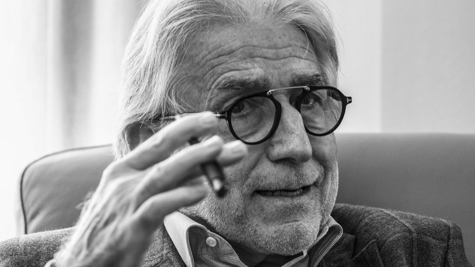 Josep Sánchez Llibre en una imatge d'arxiu
