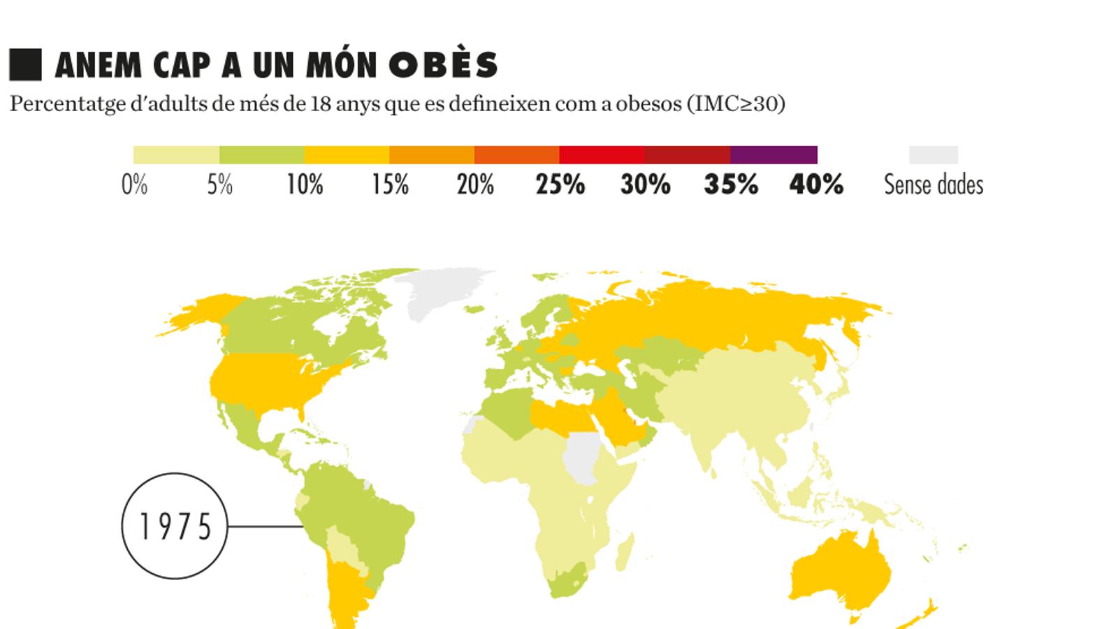 Obesitat i sobrepès: l'altra malnutrició