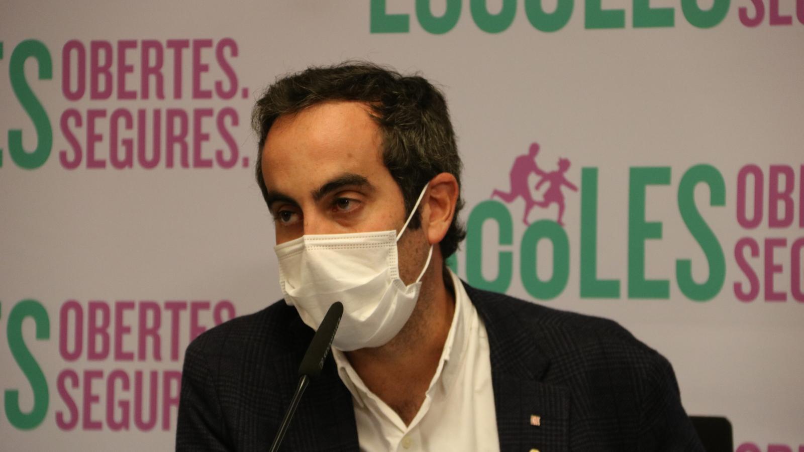 Roda de premsa del departament de Salut per actualitzar l'evolució del covid-19 a Catalunya