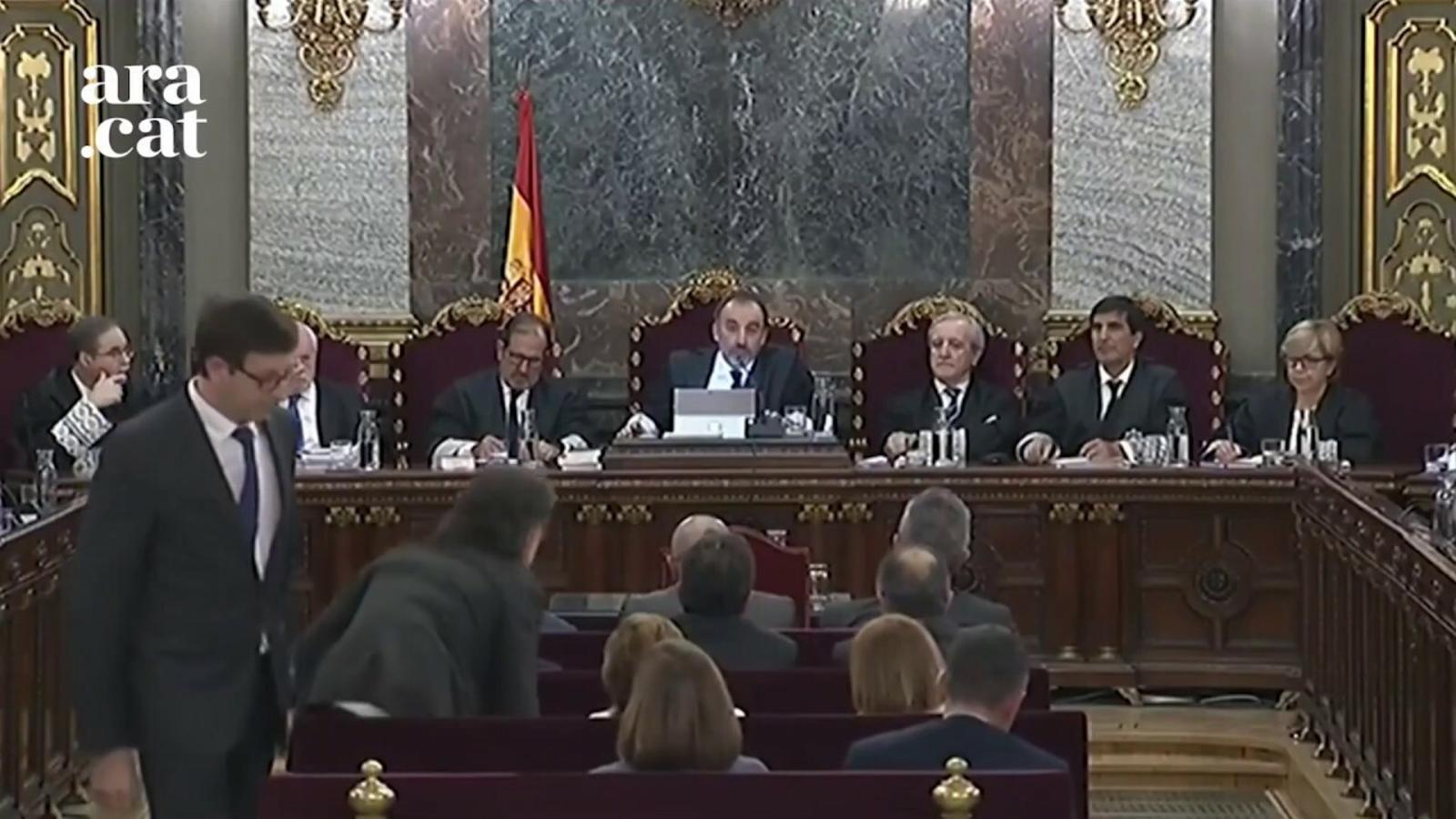 """Marchena posa fi al judici del Procés: """"Vist per a sentència"""""""