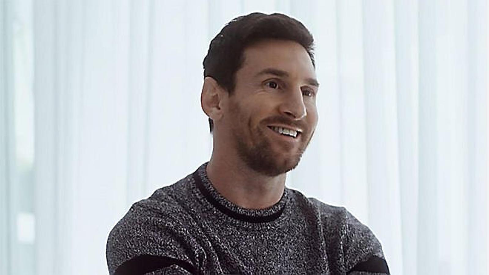 """Messi: """"Si me'n vaig del Barça, espero fer-ho de la millor manera"""""""