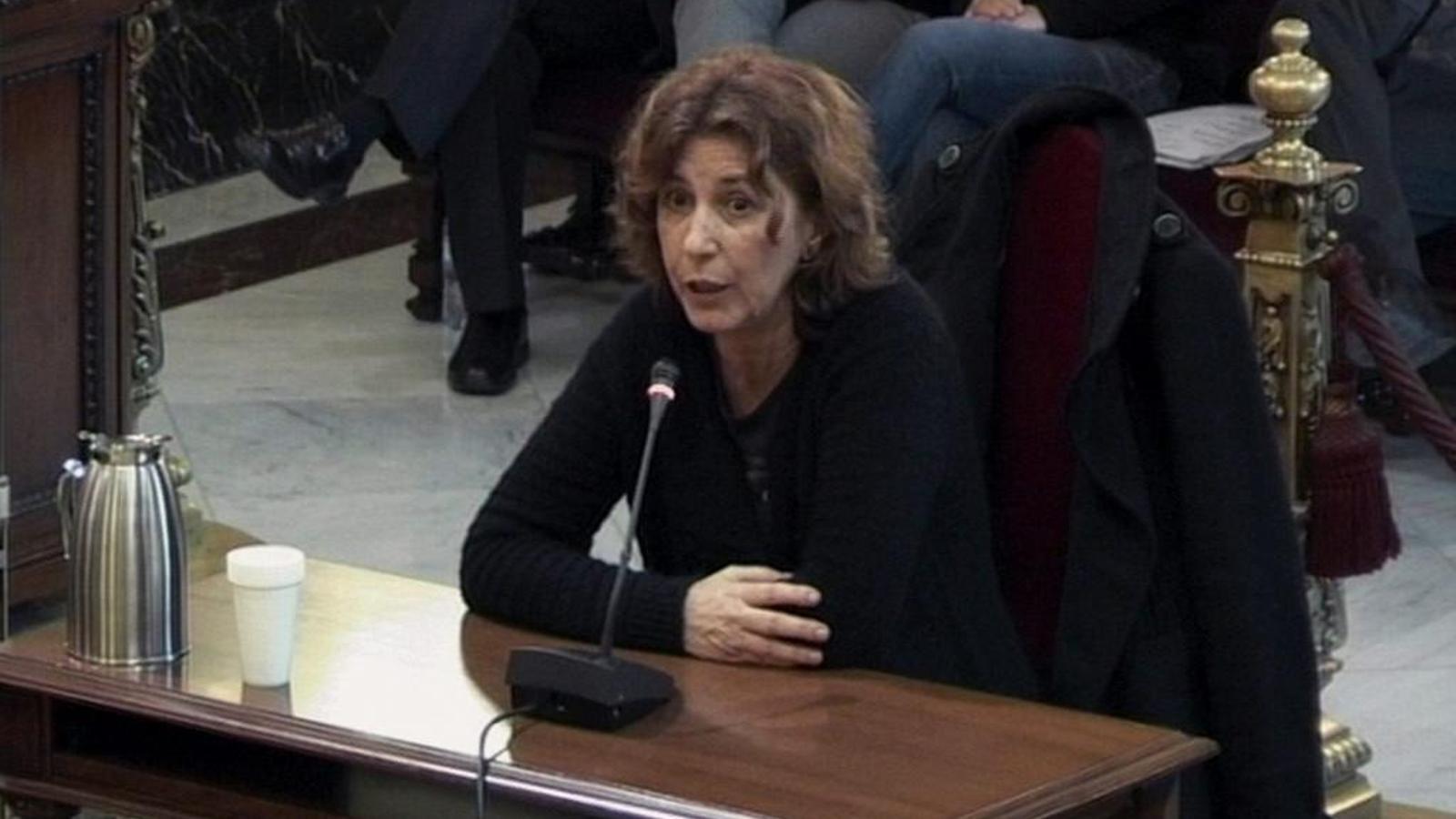 """Maria Antònia Oliver ha confessat que a Memòria de Mallorca es senten """"molt decebuts""""."""