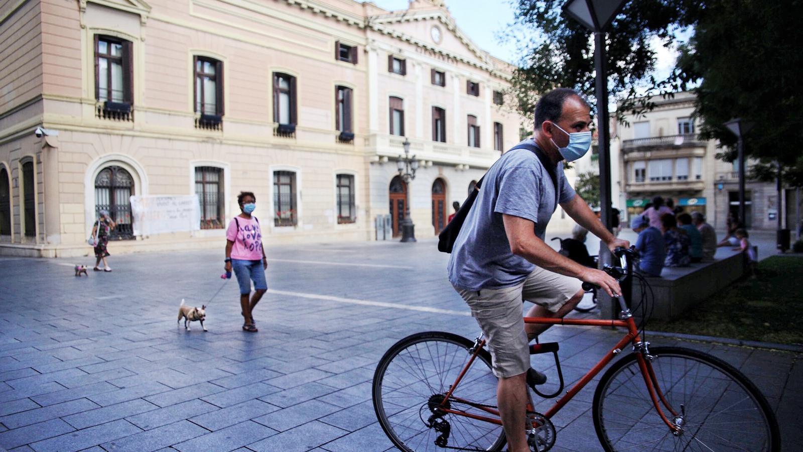 Ambient al centre de Sabadell