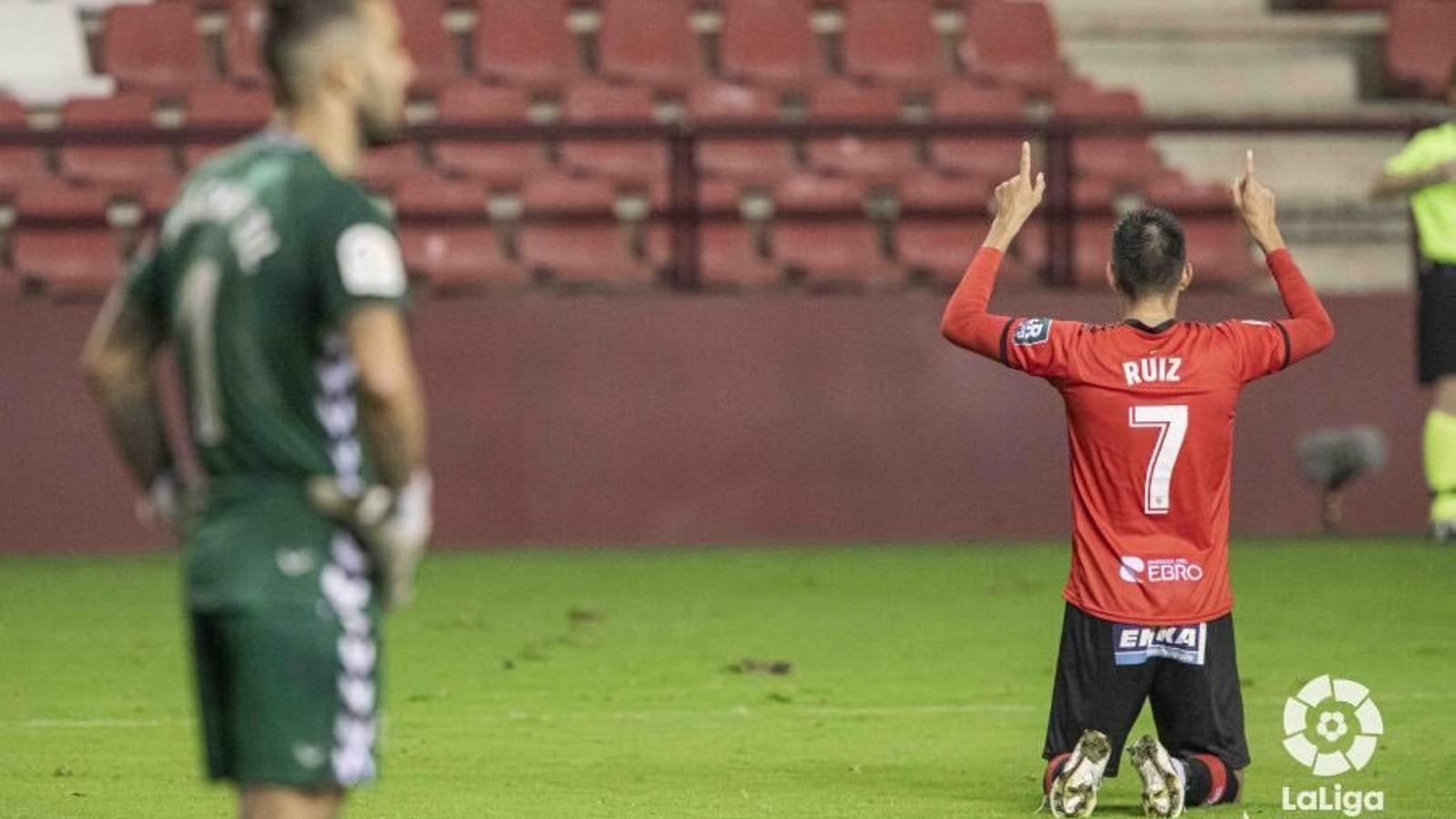 El Sabadell no abandona la mala dinàmica a Las Gaunas (1-0)
