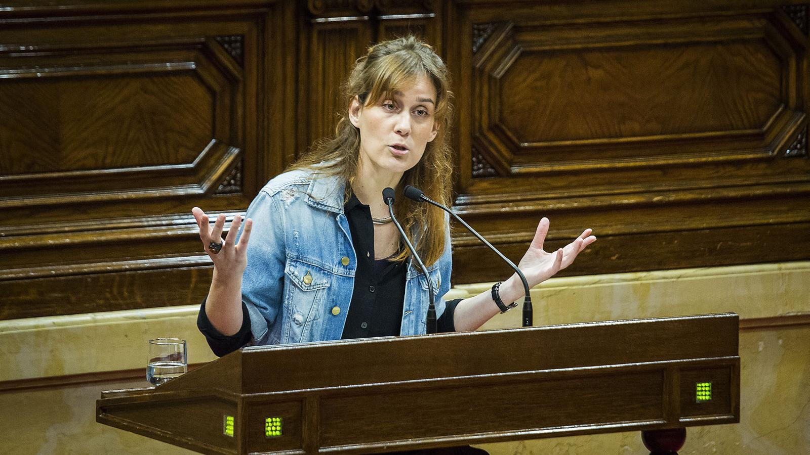 La número 3 de la llista de Catalunya en Comú - Podem al Parlament, Jéssica Albiach.