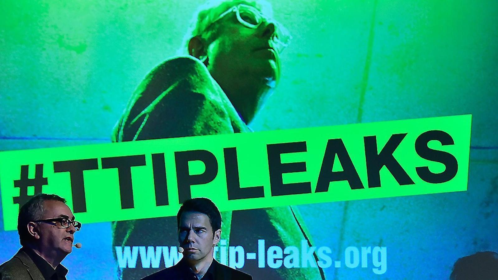 Greenpeace Holanda va filtrar uns documents de les negociacions del TTIP que fins ara eren secrets.