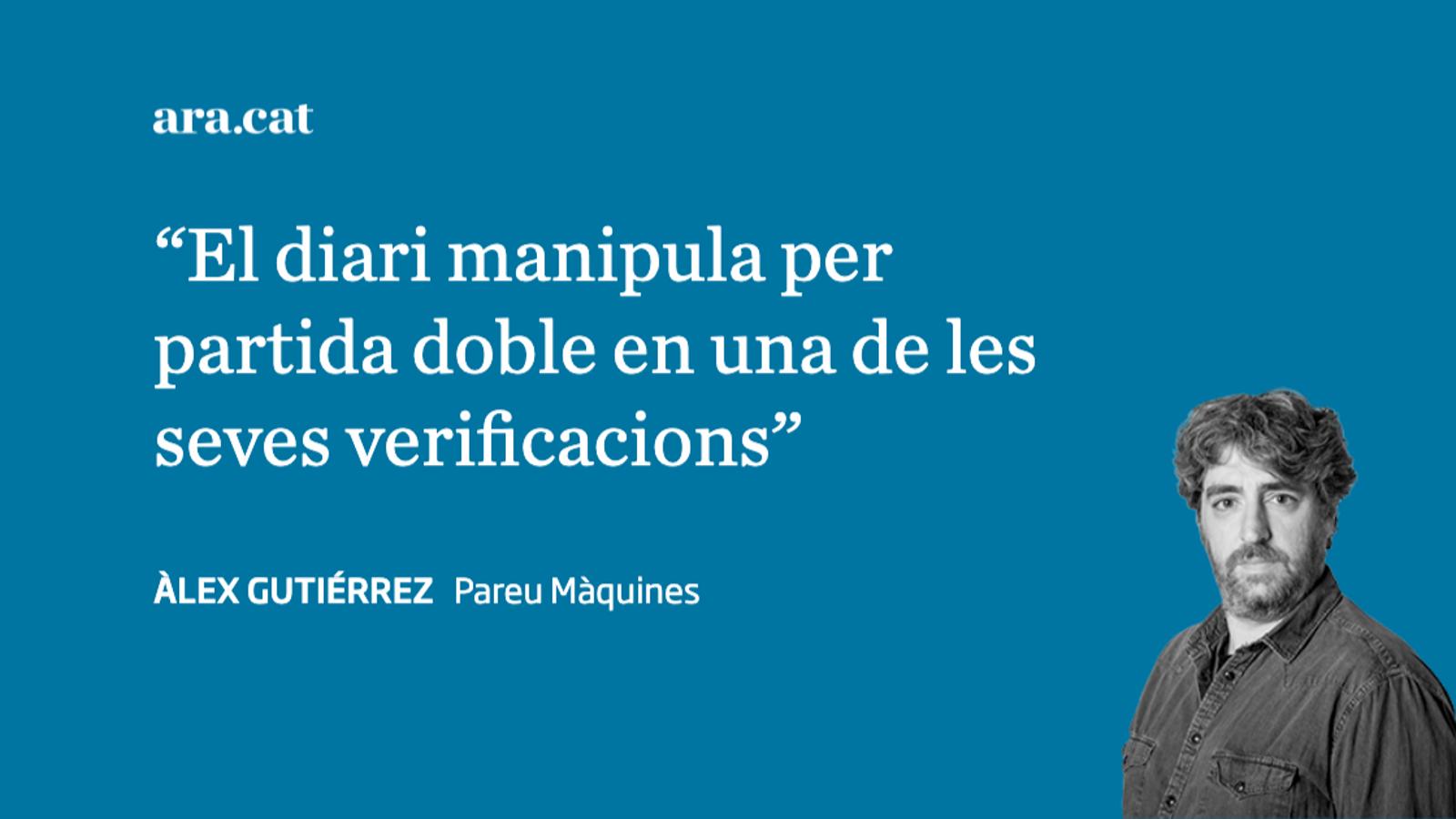 El 'fact-checking' de fireta de 'La Razón' amb TV3