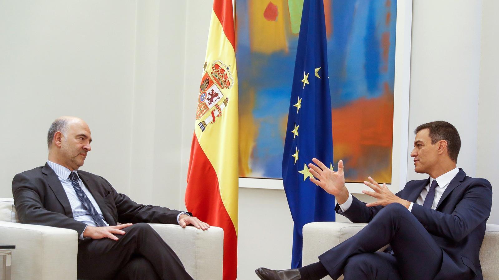 Brussel·les certifica l'alentiment econòmic i retalla amb força la previsió de creixement d'Espanya