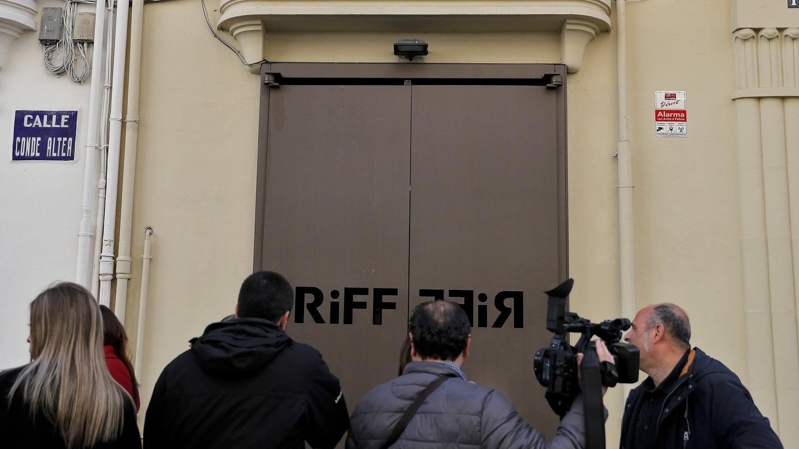 El restaurant Riff de València ha tancat fins que s'esclareixi la mort d'una clienta