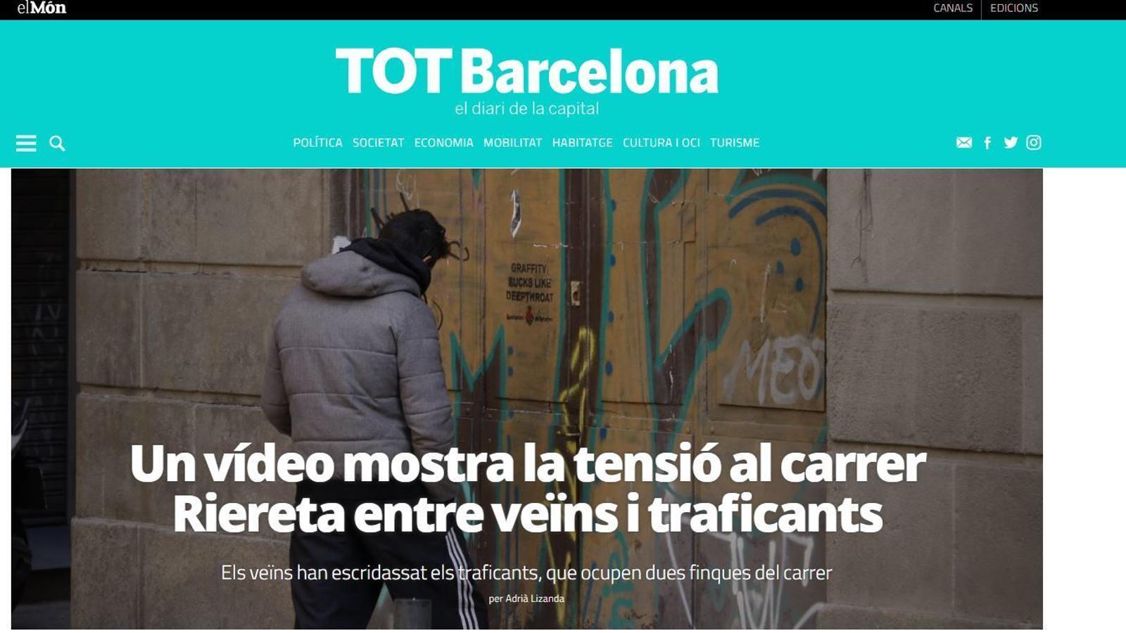 Neix 'Tot Barcelona', diari digital centrat en la capital catalana