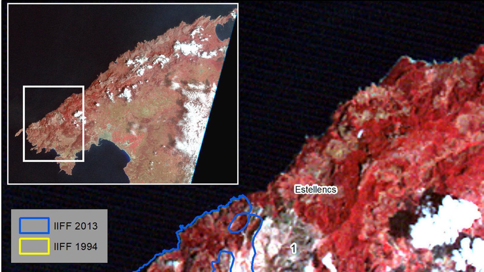 Imatge Landsat-1 dia 16-05-1976.
