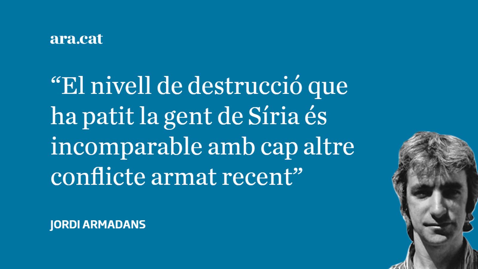 Síria, 'mals actors, mal teatre, mal públic'