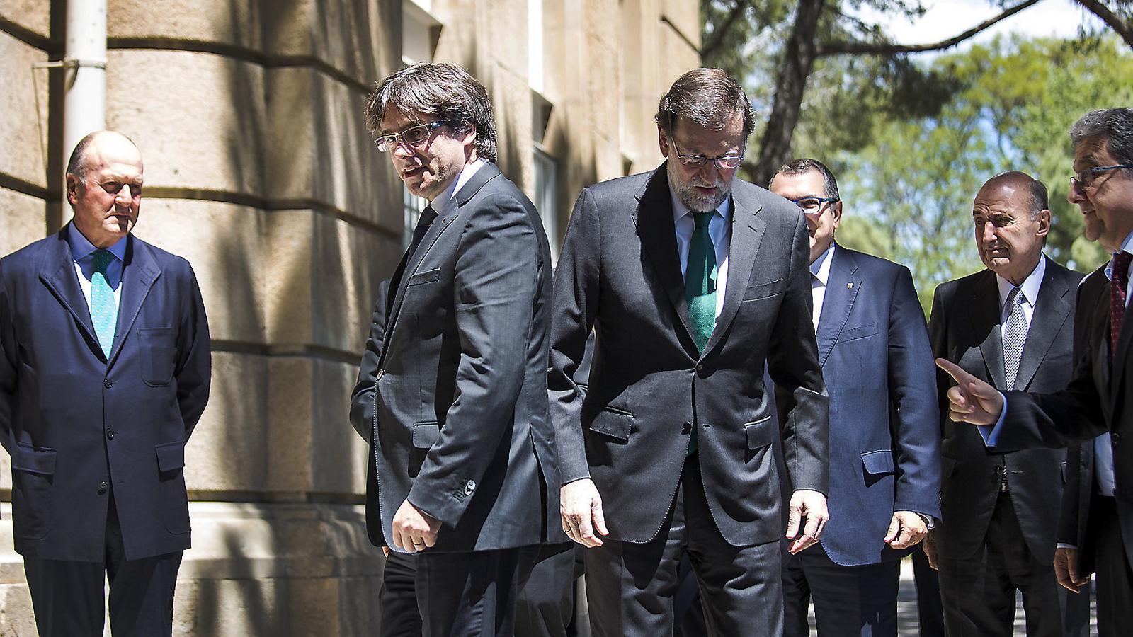 El xoc entre l'Estat i la Generalitat, a punt tot i la treva estival