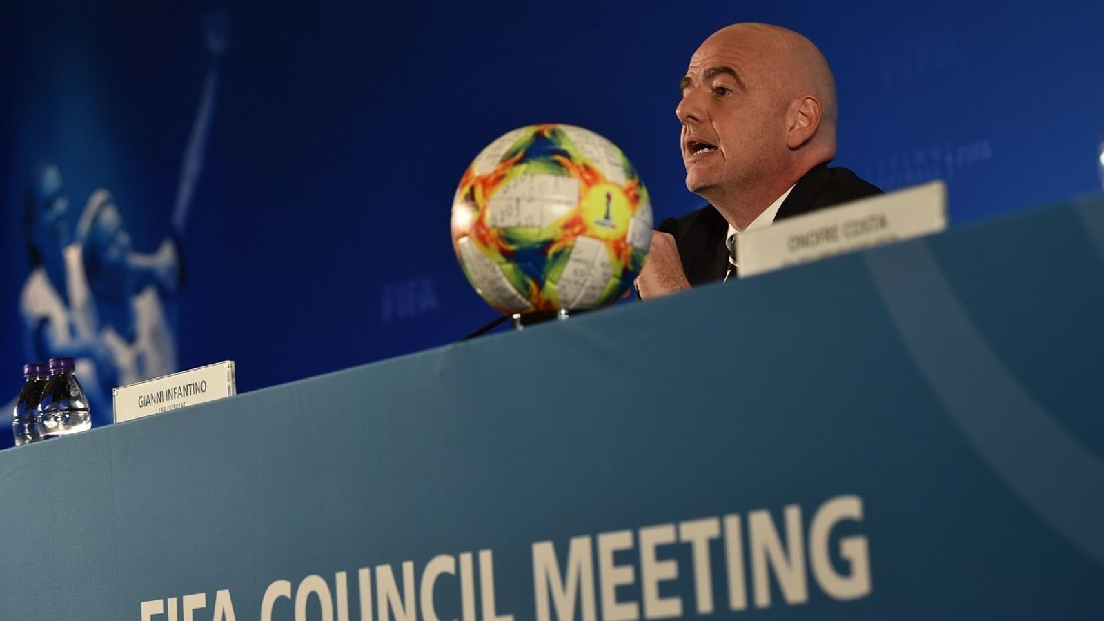 Gianni Infantino, president de la FIFA