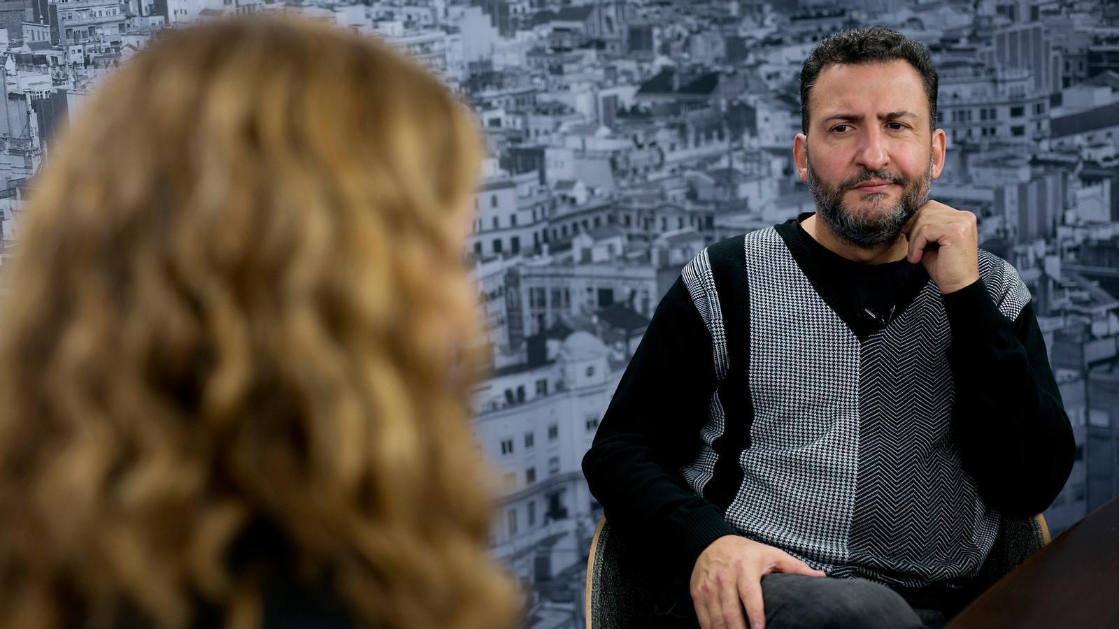 Entrevista d'Esther Vera a Toni Soler