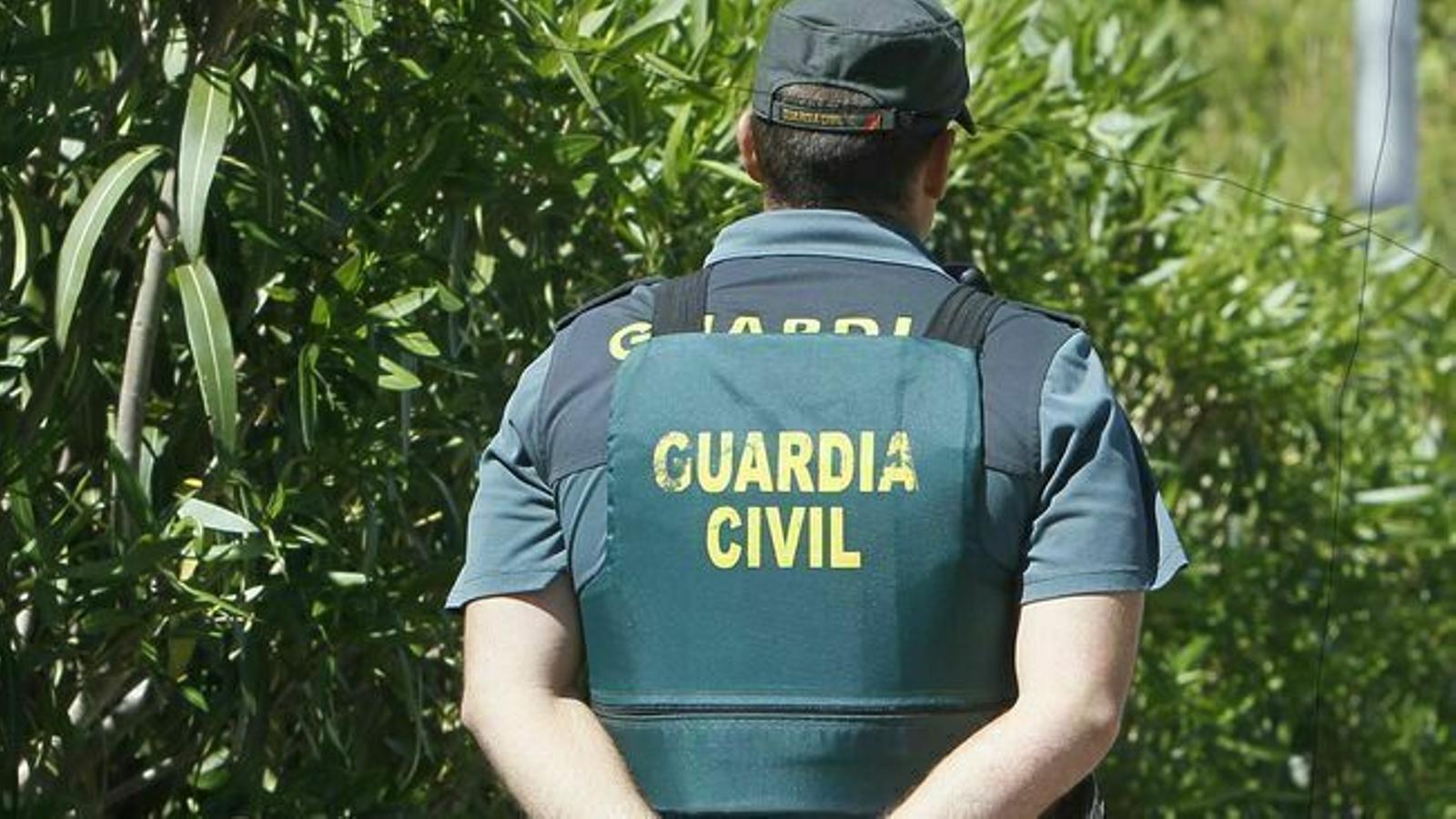 Un agent de la Guàrdia Civil en una imatge d'arxiu