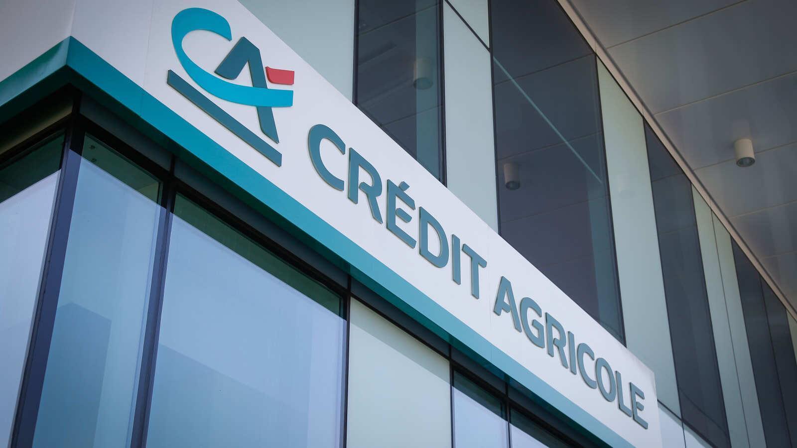 Una façana de Crédit Agricole. / CA