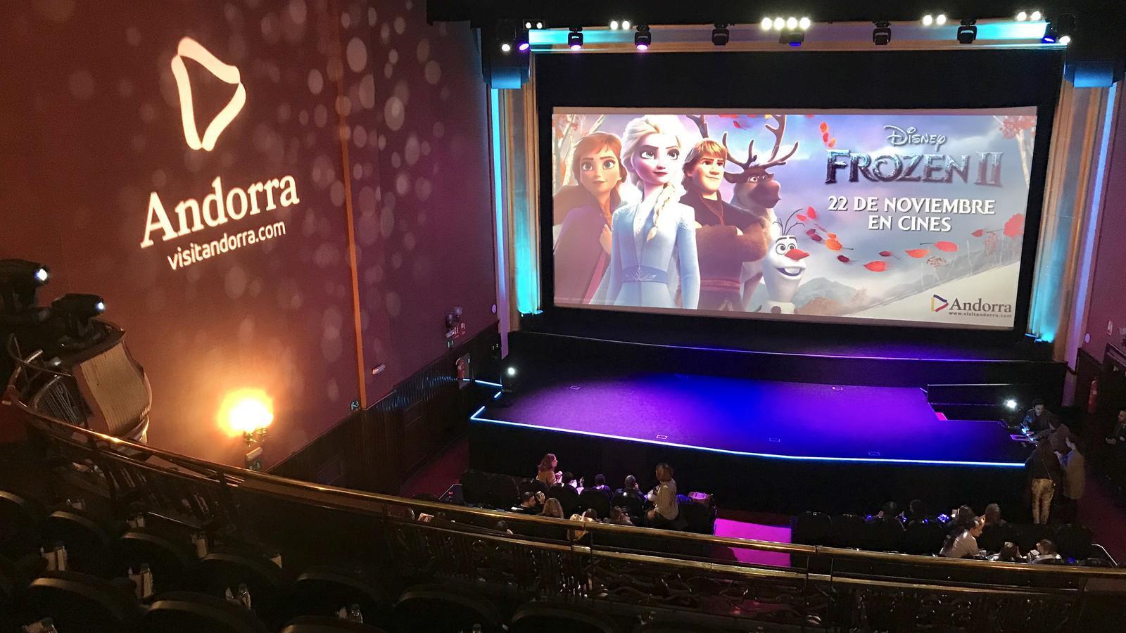 Vista general del cinema on van tenir lloc l'estrena. / ANDORRA TURISME
