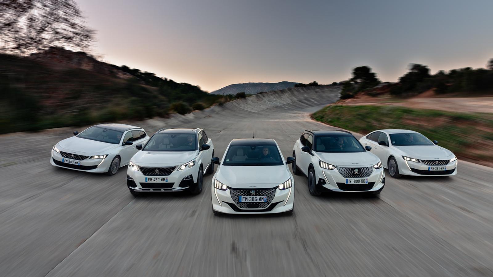 Gamma Peugeot eco: el lleó es torna més saludable