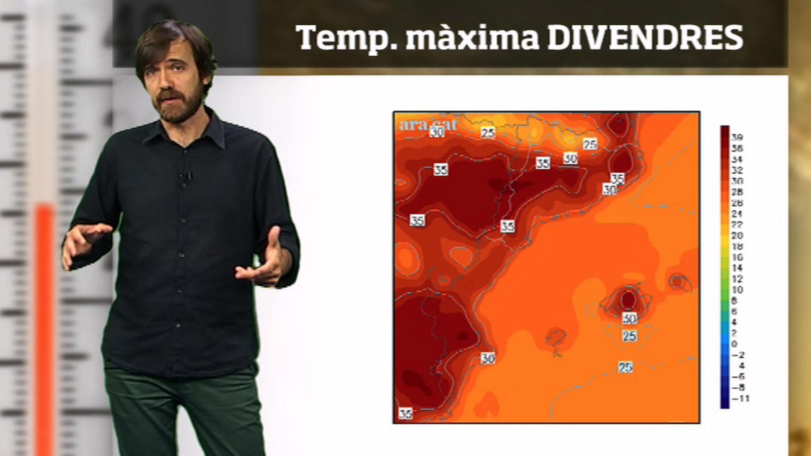 Méteo especial: nou pic de calor per Sant Joan