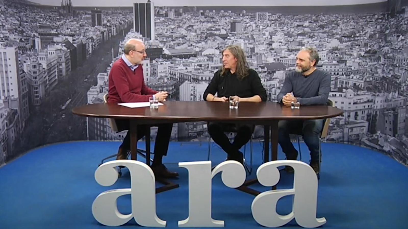 """Josep Thió, guitarrista i compositor de Sopa de Cabra: """"L'1 d'octubre ens ha despertat, el públic està més sensible"""""""