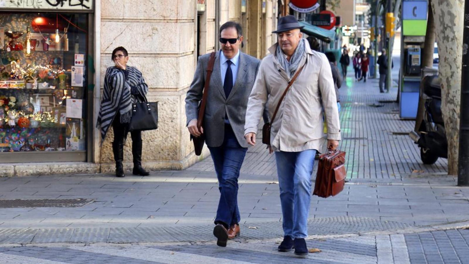 El jutge Manuel Penalva i el fiscal d'Anticorrupció Miguel Ángel Subirán.