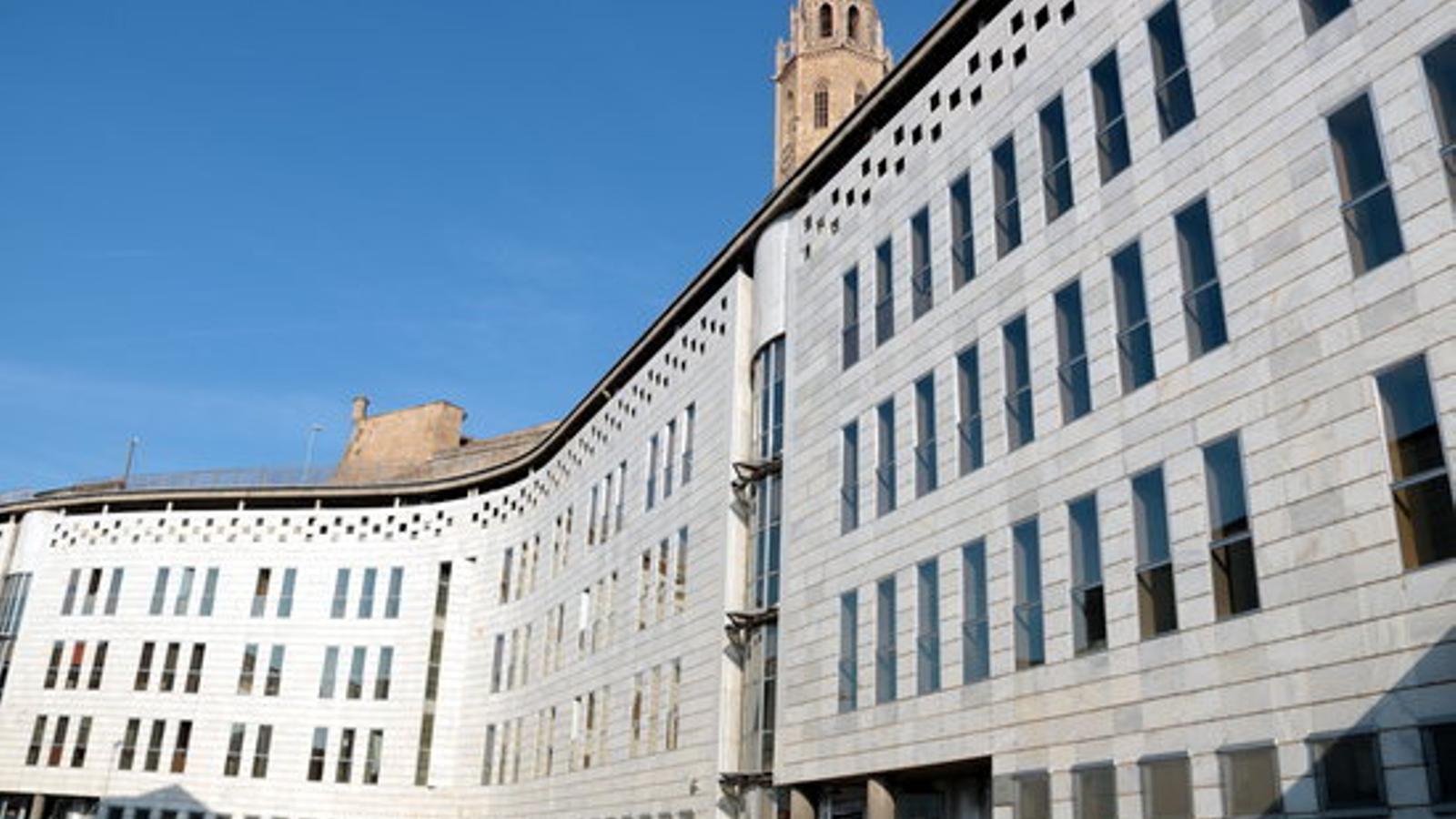 Els jutjats de Lleida. / ACN
