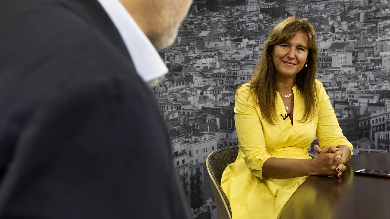Entrevista d'Antoni Bassas a Laura Borràs