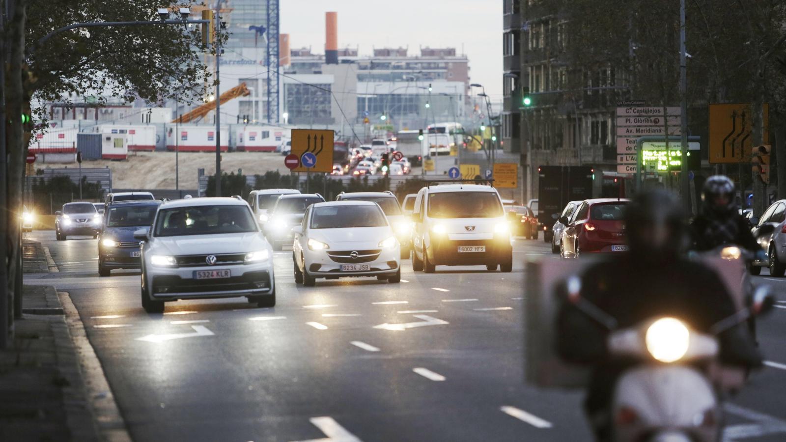 Els conductors ignoren la zona de baixes emissions