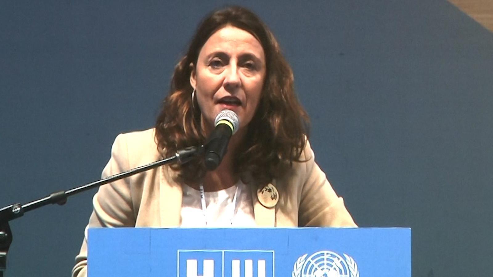 Discurs de Mercè Conesa a la II Assemblea de Governs Locals i Regionals d'Hàbitat a Quito