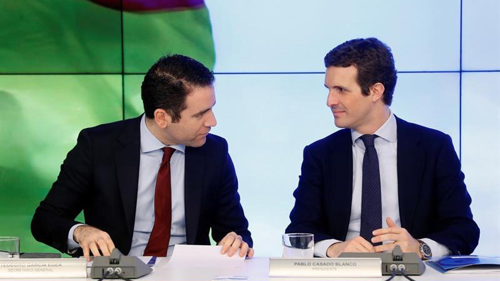"""""""L'agenda catalana és l'agenda d'ETA"""": Casado dispara el to, en 20 frases"""