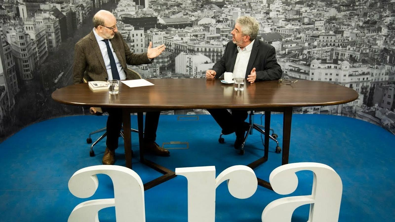 Antoni Bassas entrevista a Xavier Roig