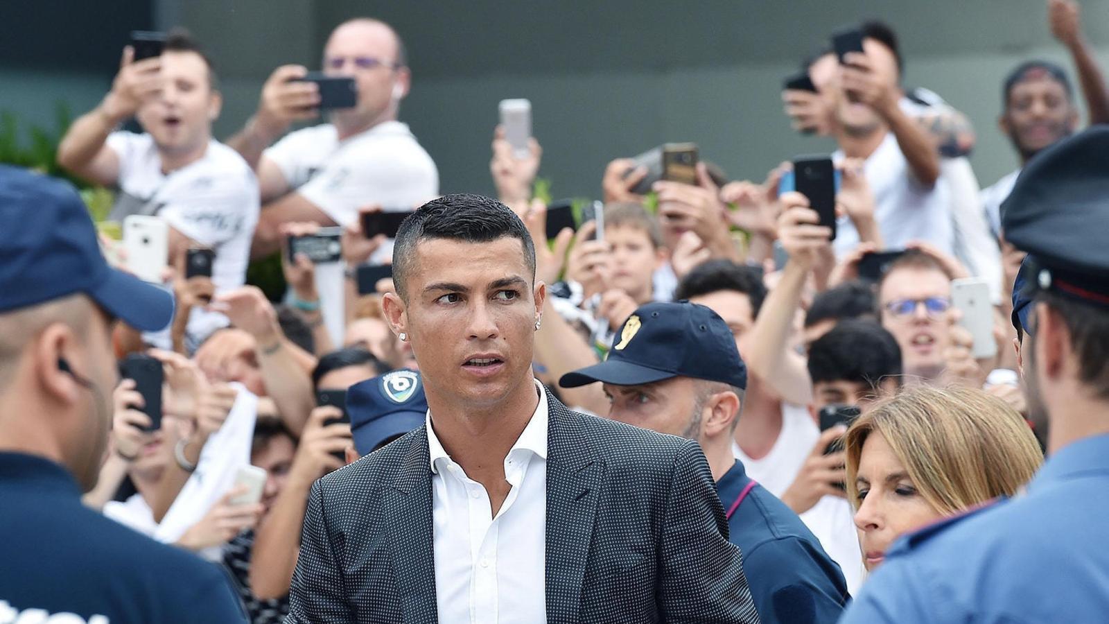 "El ""pas endavant""  de Cristiano Ronaldo"