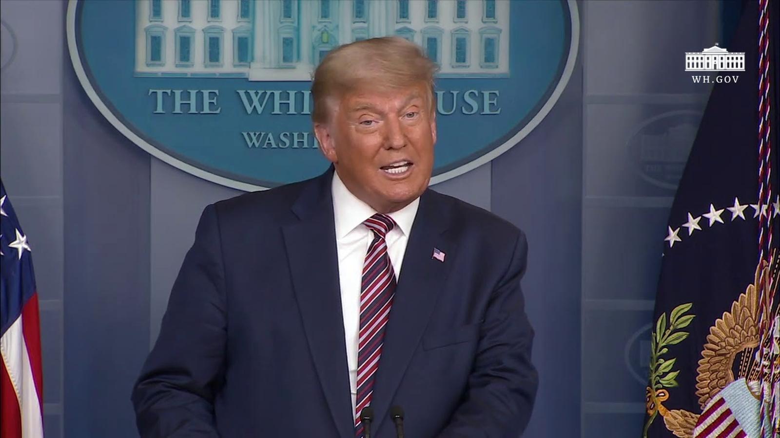 Roda de premsa del president Donald Trump (5/11/2020)
