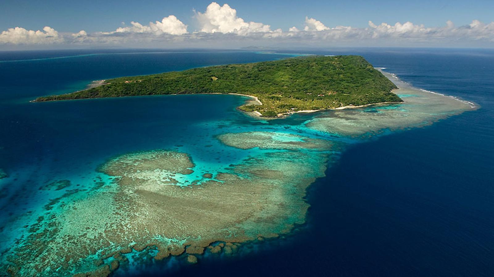 Imatge aèria de la paradisíaca illa de Wakaya / CONCIERGE AUCTIONS