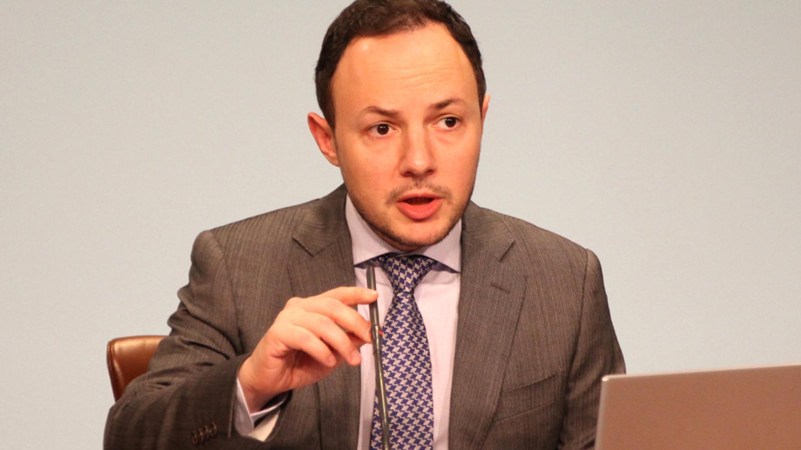 El ministre Xavier Espot en una imatge d'arxiu. / ANA