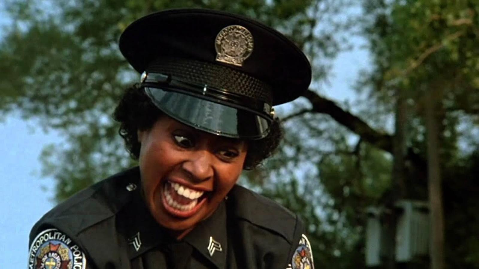 Marion Ramsey a 'Boja acadèmia de policia'