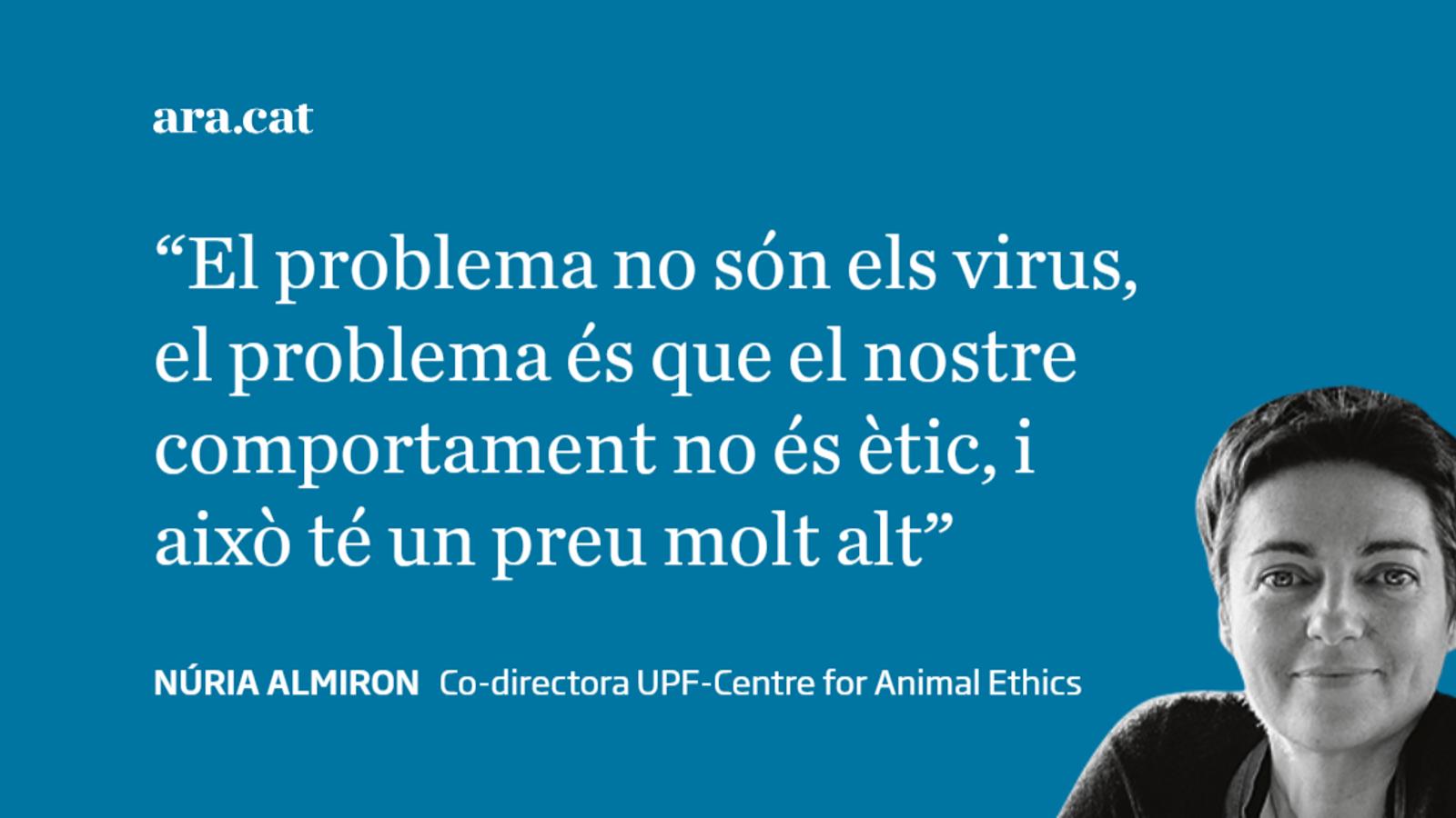 No és el coronavirus, és l'ètica