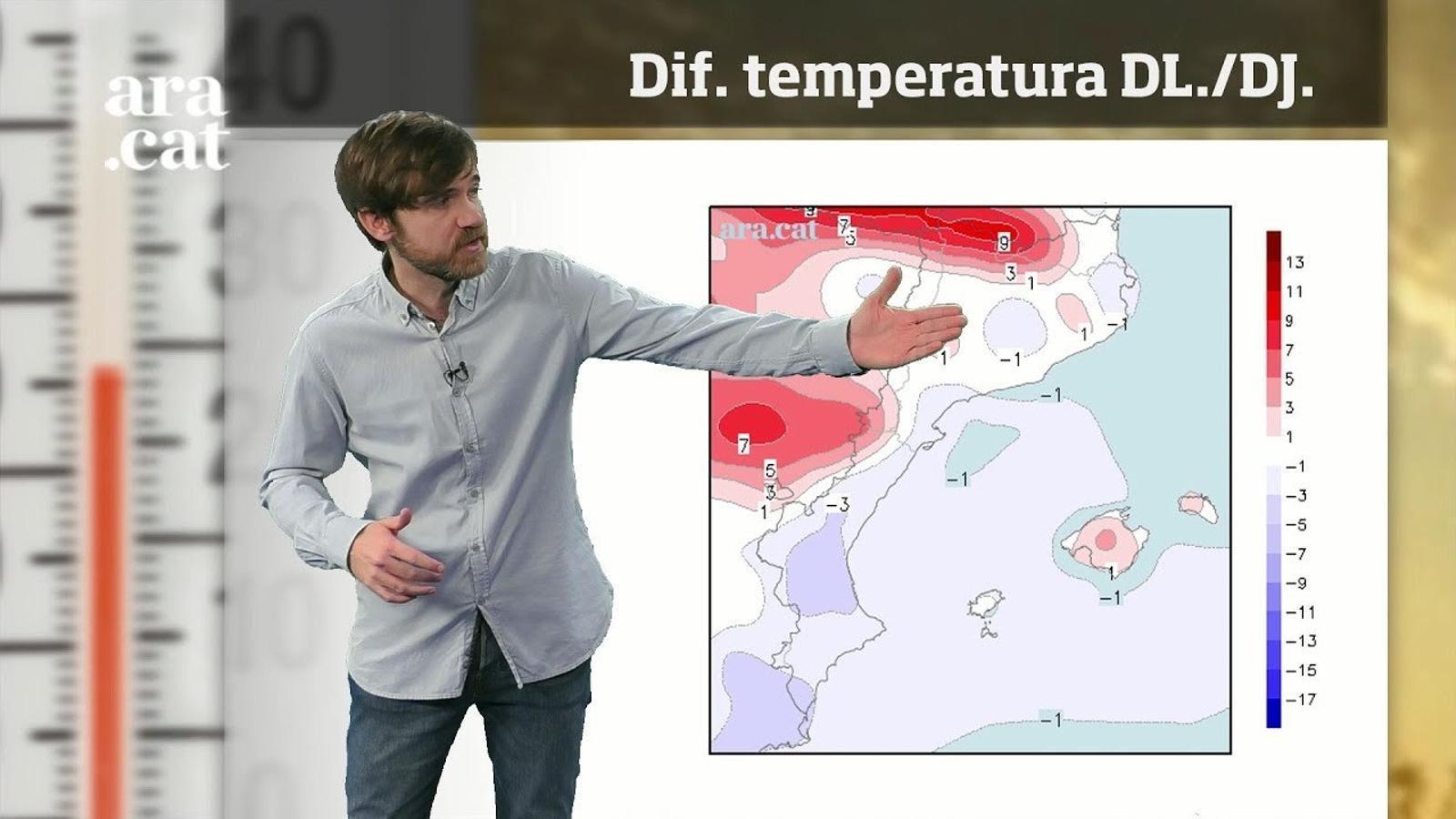 La méteo en 1 minut: ambient més hivernal i temps tranquil