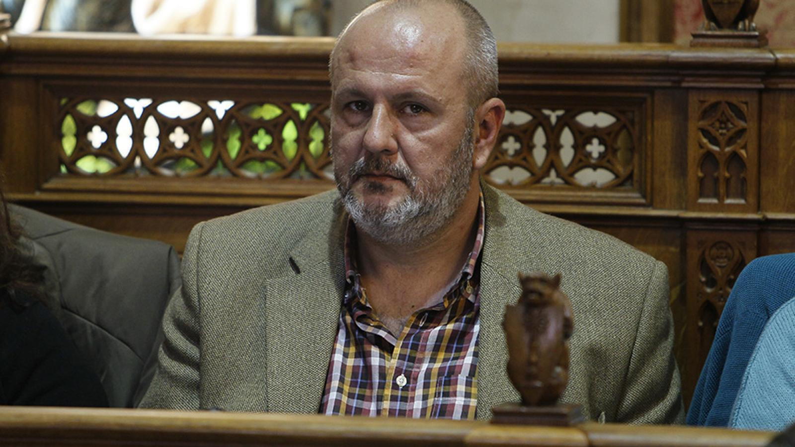 El candidat de MÉS al Consell de Mallorca