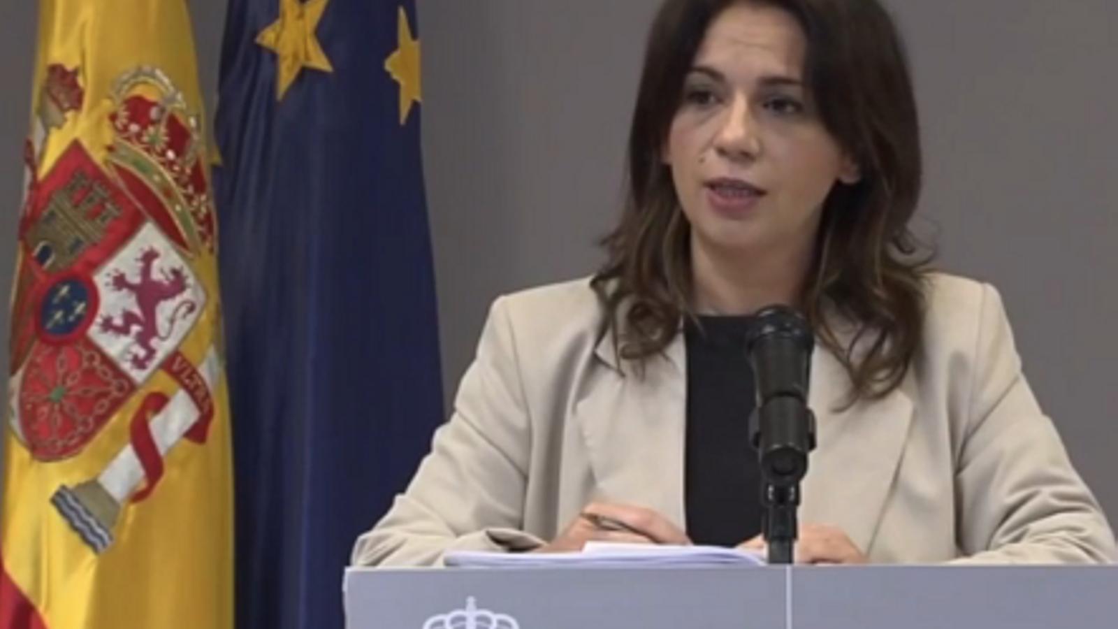 Compareixença de Sílvia Calzón, secretària d'Estat de Sanitat