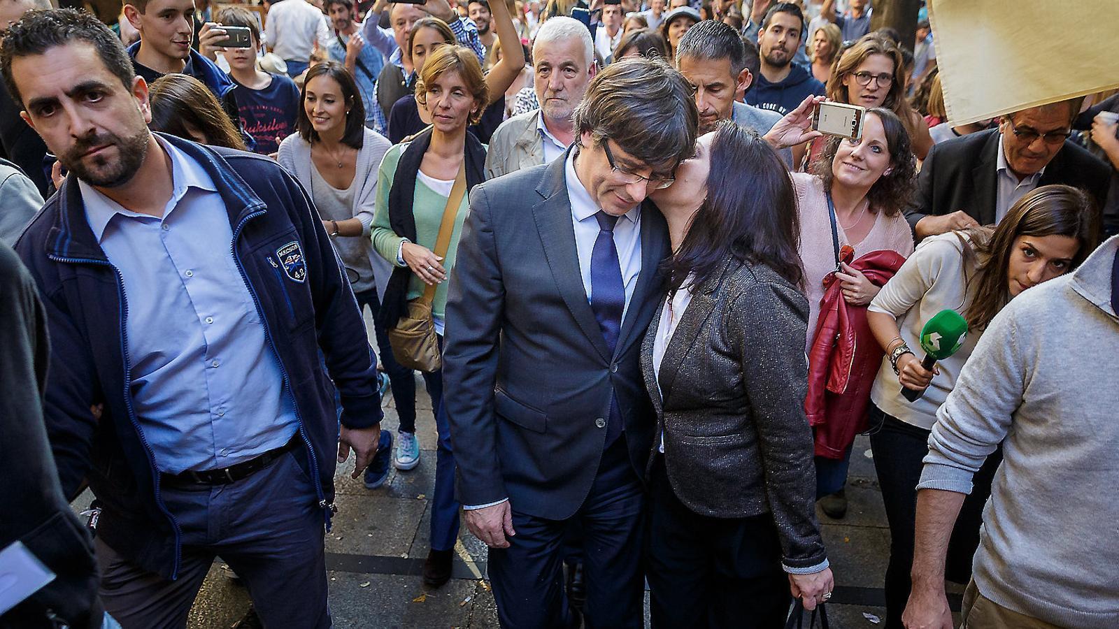 Avui fa un any Puigdemont es planteja què fer amb el govern a la catalunya nord