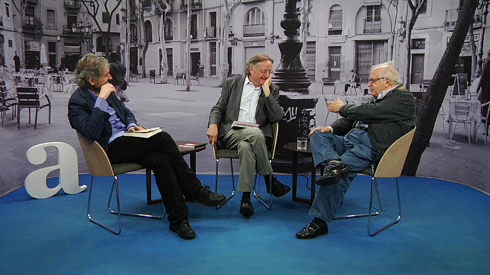 Entrevista de Carles Capdevila a José Martí Gómez i Josep Ramoneda