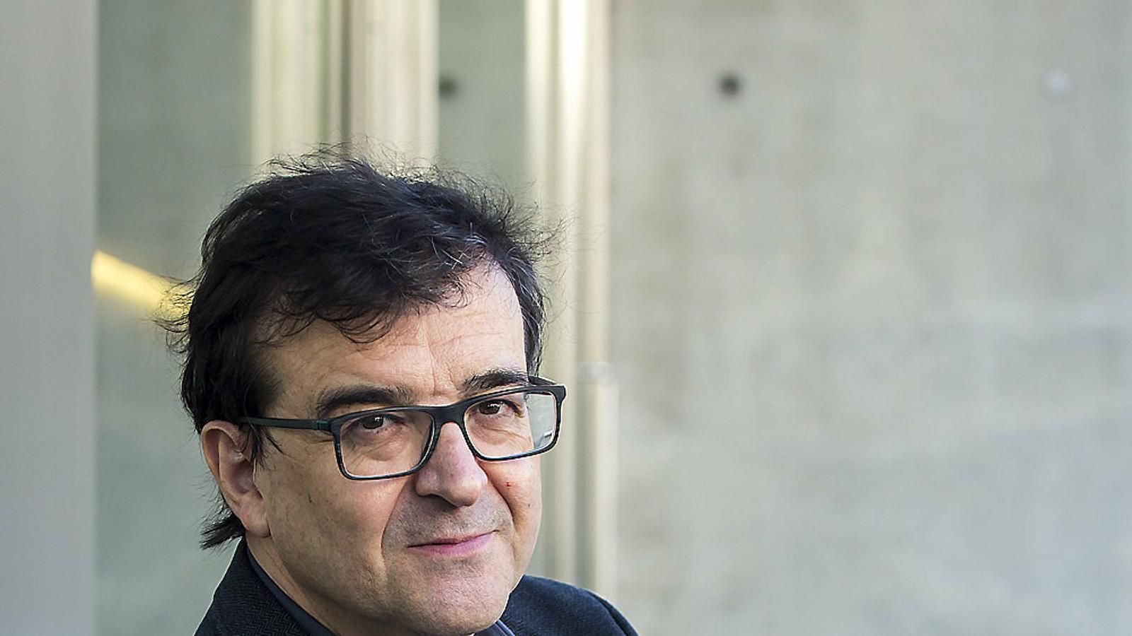 """Javier Cercas: """"En alguns casos, la justícia absoluta pot ser la més absoluta de les injustícies"""""""